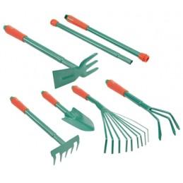 Įrankių komplektas 6vnt. sodui-daržui FLO Y-99041