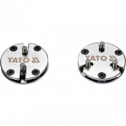Reguliuojamų stabdžių cilindrų suspaudėjų rinkinys 2vnt. YATO YT-06809