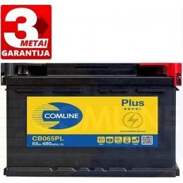 Akumuliatorius 55Ah 480A (-/+) COMLINE PLUS CB065PL