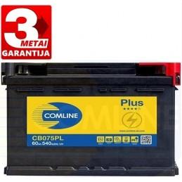Akumuliatorius 60Ah 540A (-/+) COMLINE PLUS CB075PL