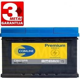 Akumuliatorius 65Ah 580A (+/-) COMLINE PLUS CB075PR