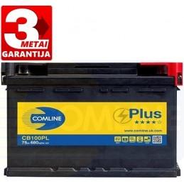 Akumuliatorius 75Ah 680A (-/+) COMLINE PLUS CB100PL