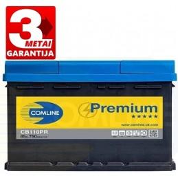 Akumuliatorius 85Ah 750A (+/-) COMLINE PLUS CB110PR