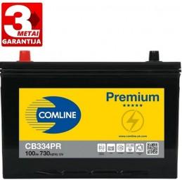 Akumuliatorius 100Ah 730A (+/-) COMLINE PLUS CB334PR