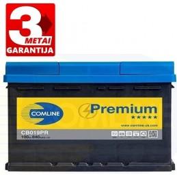 Akumuliatorius 100Ah 840A (+/-) COMLINE PLUS CB019PR