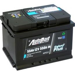 Akumuliatorius 55Ah 500A (-/+) AUTOPART GALAXY PLUS AKU55AUTOPART