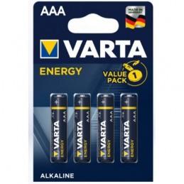 Elementas VARTA ALKALINE ENERGY LR03 AAA 4vnt.