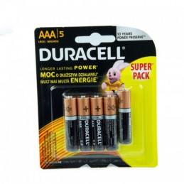 Elementas DURACELL DURALOCK BASIC LR03 AAA 5vnt.