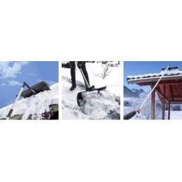 Kastuvas sniegui nuo stogo valyti 2in1 PATROL ROOF MASTER