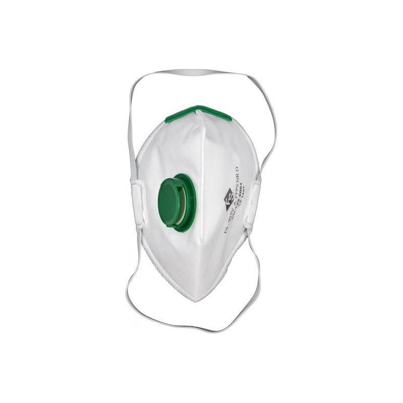 Respiratorius-kaukė su vožtuvu FFP2/PZ CE YATO YT-74949