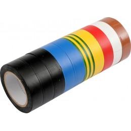 Spalvotos izoliacijos 15mmx10mx0,13mm. rinkinys 10vnt. VOREL Y-75012