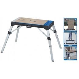 Daugiafunkcinis stalas 3IN1 darbastalis, vežimėlis iki 150kg. STORCH pakyla