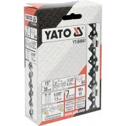 """3/8 1,5mm., 64narelių, 38cm. 8"""" grandinė pjūklui YATO YT-84941"""