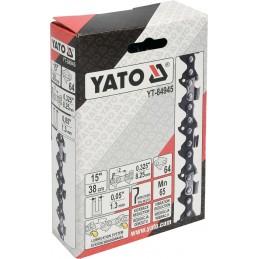 """0,325 1,3mm., 64narelių, 38cm. 15"""" grandinė pjūklui YATO YT-84945"""