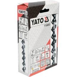 """3/8"""" 1,3mm., 56narelių, 40cm. 16"""" grandinė pjūklui YATO YT-84953"""