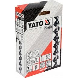 """3/8"""" 1,3mm., 40narelių, 25cm. 10"""" grandinė pjūklui YATO YT-84948"""