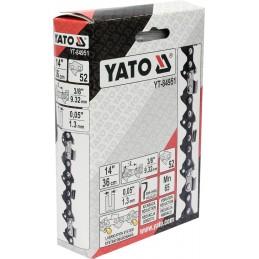 """3/8"""" 1,3mm., 52narelių, 36cm. 14"""" grandinė pjūklui YATO YT-84951"""