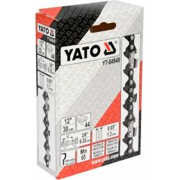 """3/8"""" 1,3mm., 44narelių, 30cm. 12"""" grandinė pjūklui YATO YT-84949"""