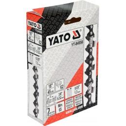 """3/8"""" 1,3mm., 62narelių, 45cm. 18"""" grandinė pjūklui YATO YT-84956"""