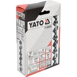 """3/8"""" 1,6mm., 60narelių, 40cm. 16"""" grandinė pjūklui YATO YT-84955"""