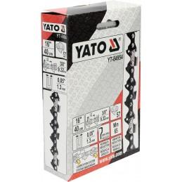 """3/8"""" 1,3mm., 57narelių, 40cm. 16"""" grandinė pjūklui YATO YT-84954"""