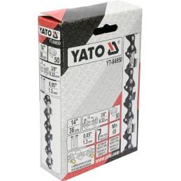 """3/8"""" 1,3mm., 50narelių, 36cm. 14"""" grandinė pjūklui YATO YT-84950"""