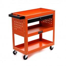 Vežimėlis-stalas dirbtuvėms 68x37x25cm. KD366