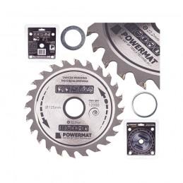 Diskinis pjūklas 125x22,2/16/20x24Z medienai TDD-125x22,2x24Z
