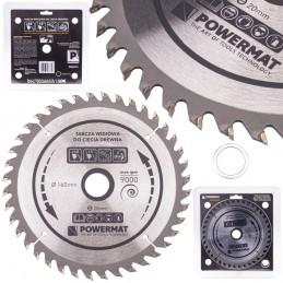 Diskinis pjūklas 160x20/16x40Z medienai TDD-160x20x40Z