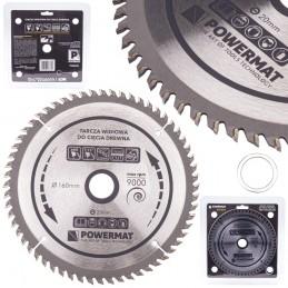 Diskinis pjūklas 160x20/16x60Z medienai TDD-160x20x60Z