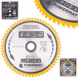 Diskinis pjūklas 255x30x60Z medienai TDD-255x30x60Z