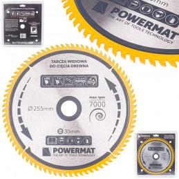 Diskinis pjūklas 255x30x80Z medienai TDD-255x30x80Z