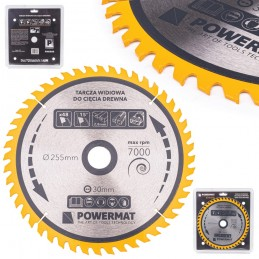 Diskinis pjūklas 255x30x48Z medienai TDD-255x30x48Z
