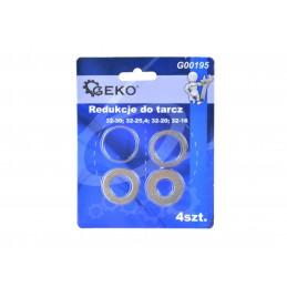 Redukciniai žiedai 32/30-25-20-16mm. 4vnt. komplektas G00195