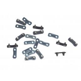 """Grandinių nareliai 325"""" 1,5mm. 10vnt. rinkinys G74019"""