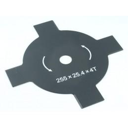 Pjovimo diskas 255/25,4mm. 4 dantų trimeriui AKC0079