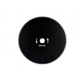 Pjovimo diskas 255/25,4mm. 80 dantų trimeriui AKC01019