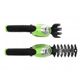 Žolės/gyvatvorių žirklės, akumuliatorinės 7,2V/1,3Ah G83012