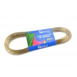 Plieninė virvė 2mmx20m. su PVC audiniams G73190