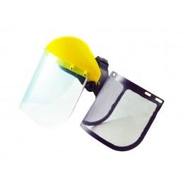 Apsauginis skydelis su tinkleliu ir PVC AKC0107