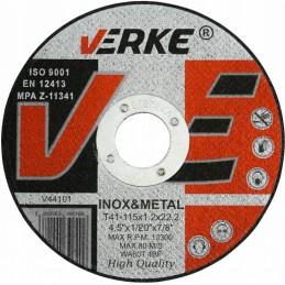 Diskas metalui 115x1,2x22,2mm. V44101