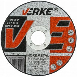 Diskas metalui 115x1,6x22,2mm. V44102