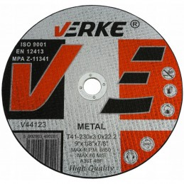 Diskas metalui 230x3x22,2mm. V44123