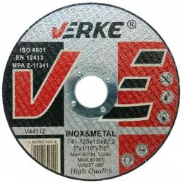 Diskas metalui 125x2,5x22,2mm. V44113