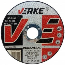 Diskas metalui 125x1,0x22,2mm. V44110