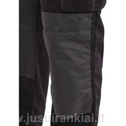Puskombinezonis juodas/pilkas YATO 80189