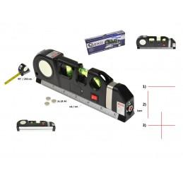 Gulsčiukas daugiafunkcinis su lazeriu ir 2,5m. rulete G03310
