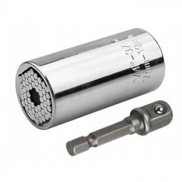 "Universali galvutė 7-19mm. su adapteriu 1/4""-3/4"" KD1561"