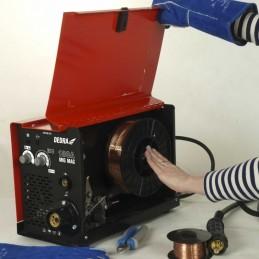 Suvirinimo aparatas IGBT MIG/MAG 180A inventorinis DESMi180