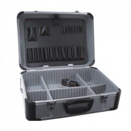 Lagaminas įrankiams 455x330x170mm. aliuminis N0008